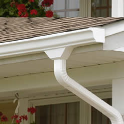 seamless gutter installtion in Denver, gutter installers, new gutters